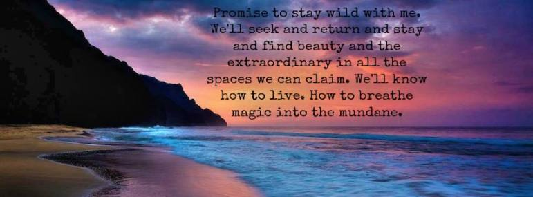 seek magic in the mundane