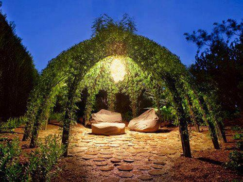 great space for meditation