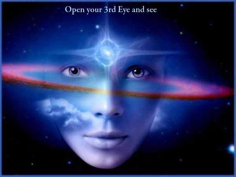 open your third eye and see